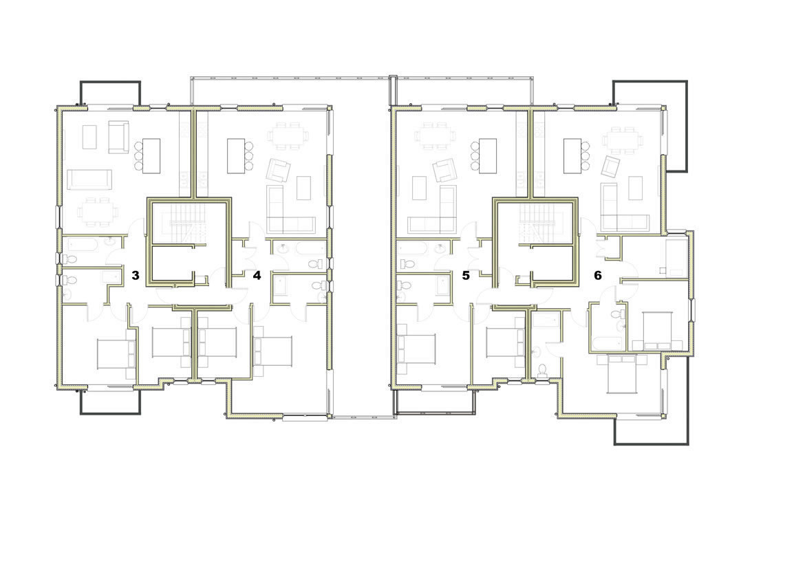 Trelyon Apartments Ground Floor Plan
