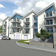 CGI of Trelyon Apartments